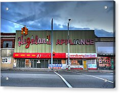 Highland Appliance Superstore Acrylic Print by Gordon Dean II