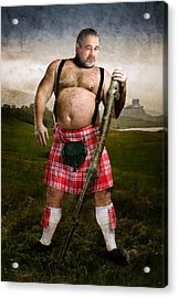 Highlands Acrylic Print by Bear Pictureart