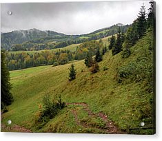 Highlands Landscape In Pieniny Acrylic Print