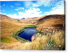 Acrylic Print featuring the photograph Highlands by Riana Van Staden