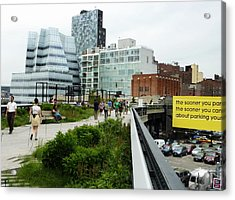 Highline Parking Acrylic Print by Dan Stone