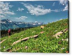 Highline Trail Adventure Acrylic Print