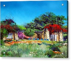 Highveld House Acrylic Print