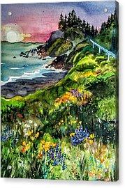 Highway  101 North Acrylic Print