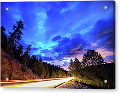Highway 7 To Heaven Acrylic Print by James BO Insogna