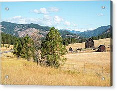 Highway 97 Ranch Memories Acrylic Print