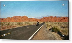 Highway Journey Acrylic Print by JAMART Photography