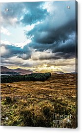 Acrylic Print featuring the photograph Higlands Wonders by Anthony Baatz