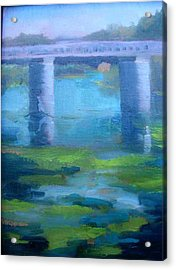 Hike To The Trestles   San Clemente California Acrylic Print by Bryan Alexander
