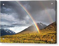 Hiland Mountain Acrylic Print