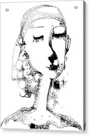Hilda Acrylic Print by Elaine Lanoue