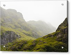 Acrylic Print featuring the photograph Hill And Glen by Christi Kraft