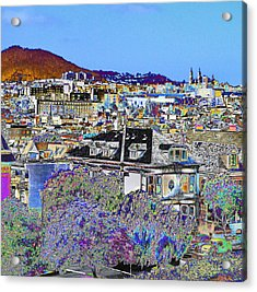 Hill Top Acrylic Print