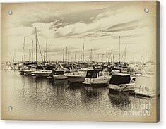 Hillarys Boat Harbour, Western Australia Acrylic Print