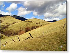 Hills Above Ashland Acrylic Print by Jim Nelson