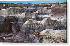 Hills Of Blue Mesa Acrylic Print