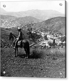 Hills Of Guanajuato - Mexico - C 1911 Acrylic Print by International  Images