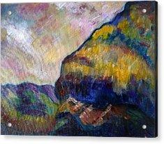 Hills Of Jamaica Acrylic Print by Kirkland  Clarke
