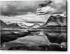 Hills Of Vesteralen Acrylic Print