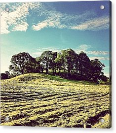 #hills #trees #landscape #beautiful Acrylic Print