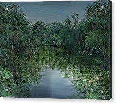 Hillsboro Flordia Acrylic Print