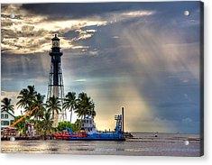 Hillsboro Inlet Lighthouse Acrylic Print