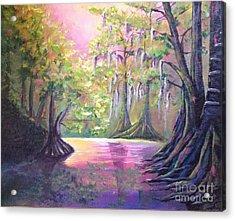 Withlacoochee River Nobleton Florida Acrylic Print