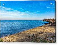 Hillsmere Beach On The Chesapeake Acrylic Print