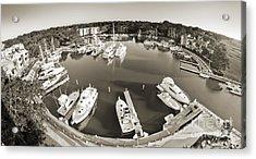 Hilton Head Harbor Town Yacht Basin 2012 Acrylic Print by Dustin K Ryan