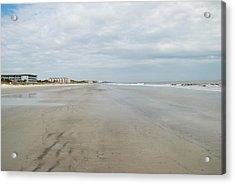 Hilton Head Island Beach Acrylic Print by Kathy Gibbons