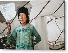 Himalayan Girl Acrylic Print