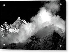 Himalayan Mountain Peak Acrylic Print