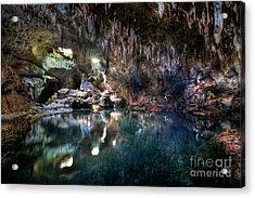 Acrylic Print featuring the photograph Hinagdanan Cave by Yhun Suarez