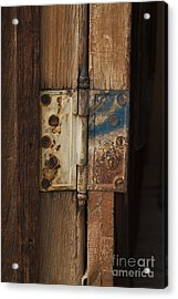 Hinge Of Blue Acrylic Print by Jennifer Apffel