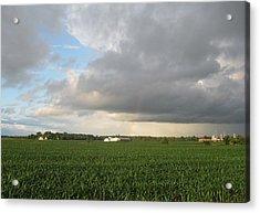 Hint Of A Rainbow Acrylic Print by Patrick Murphy
