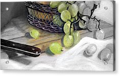 Hint Of Color Acrylic Print by Penny Everhart