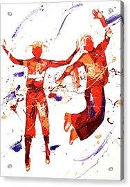 Hip Hop Acrylic Print by Penny Warden