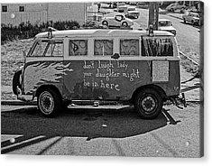 Hippie Van, San Francisco 1970's Acrylic Print