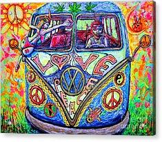 Hippie Acrylic Print