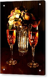 His And Hers Acrylic Print by Kristin Elmquist