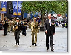 His Excellency General The Honourable David Hurley Acrylic Print