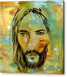His Face Acrylic Print