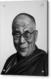 His Holiness The Dalai Lama Acrylic Print