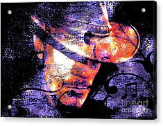 His Love Song  Acrylic Print