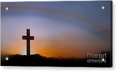 Acrylic Print featuring the photograph His Promise by Benanne Stiens