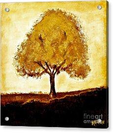 His Tree Acrylic Print by Marsha Heiken
