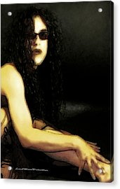 Hispanic Model Art 1 Acrylic Print