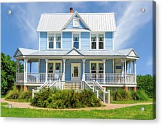 Acrylic Print featuring the photograph Historic 1800s Valentine House  -   1800svalentinehouse135435 by Frank J Benz
