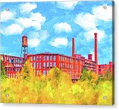 Historic Atlanta - Fulton Cotton Mill Acrylic Print
