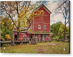 Acrylic Print featuring the photograph Historic Bowens Mills by Susan Rissi Tregoning